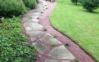Hardscaping walkway